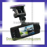 Cheap 2.7inch TFT LCD Screen HD Dual Lens 1080P Car LED Vedio Recorder Camcorder