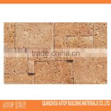 Flagstone surface exterior wall paneling cement body brick tile