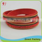 Best Selling Hot Chinese Products Fashion Leather Multi-Color Bulk Custom Bracelet