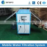 Solar Power Energy Application Product 160W*2 UV lighting Carbon Filter Water Filtration System