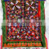 Tribal Clothing Gorgeous Vintage Tribal Women's Dress with generous embroidery and embellishments hand made in traditional dress