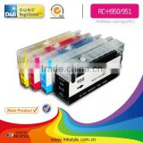 Inkstyle refill ink cartridge for hp 8600 printer 4 colors