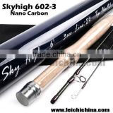In stock top quality carbon rod tube IM12 Toray carbon 6ft 2wt 3sec fly fishing rod