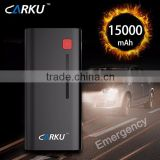 Carku jump starter/Booster/power pack wth 18000mAh CE FCC ROHS REACH certificates Diesel engine/motor/car/vehicels