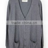 New Womens Cardigan V Neck Loose Long Sleeve knit sweater coat long