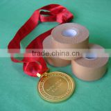 private logo printing extreme adhesive rigid sports strapping tape 3.8Cmx13.7m CE/ISO ( S )