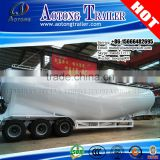 New 45CBM wheat flour truck trailer for powder and particle transportation truck trailer bulk cement trailer