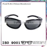 Design best selling new style indestructible quality sporty polarized sunglasses with shiny black