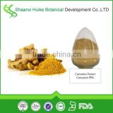 organic turmeric curcumin powder curcumin extract 95% hplc Turmeric root extract powder in bulk
