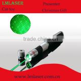 Newly 532nm 50 mw green laser pointer/2in1 green laser pen/5in1 green beam laser pointer Fixed-focus