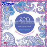 2015 Wholesale new arrive hand-painted secret garden series zen mandalas adult coloring books