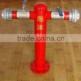 Patented products PS100/65x2 foam hydrants My company won the national patent certificate