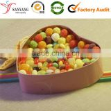 Clean lovely candy cartoon tin candy box heart shape                                                                         Quality Choice