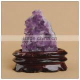Natural small amethyst crystal cluster stone wholesale