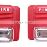 Fire alarm systems Fire strobe siren with light/ Xenon tube light or LED light optional FA-410