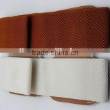 braid fiber belt adies' elastic belt PU leather belt trendy belt alloy buckle Yiwu factory 2016 fashion design