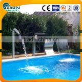Ornament artificial hotel spa pool decoration led waterfall light outdoor waterfall fountain