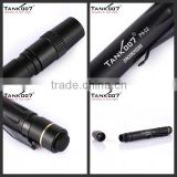Delicate design promotion gift items anodized finish brass bright torch pen led flashlight Tank007 PA02
