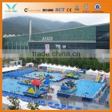 New design frame pool,above ground pools cover with aluminum