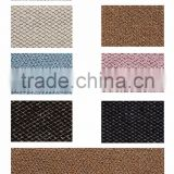 Hot sell glitter fabric PU synthetic leather for shoes, bags, boxes, cases, and book cover