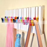 bedroom furniture wood colorful coat hook / wall hook                                                                         Quality Choice