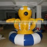 2015 hot commercial giant inflatable octopus water trampoline