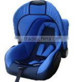 2015 baby stroler car seat with cotton cover 5 point safety pass eu stardards fit for new born baby.