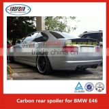 car accessory bm-w e46 m3 type carbon fiber spoiler for bmw E46 M3 spoiler