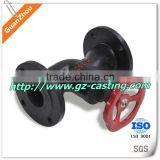 cast grey iron water&globe valve with machining