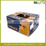 corrugated banana box for fruit packing box shipping                                                                         Quality Choice