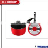 casserole hot pot with one handle glass lid XJ-13618