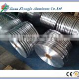 Aluminum transition strip using in cable making