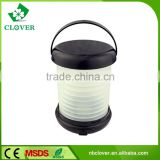 4*AAA battery operated mini led lights 12 LED solar camping lantern