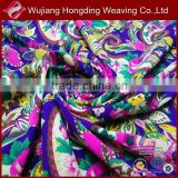 digital printed polyester rayon spandex fabric for fashion