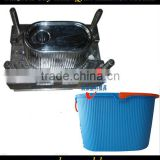 Safety and easy operation commodity plastic mop bucket molds