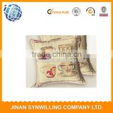 Customized Pillow Case Wedding Room Sofa Chair Bedding Hotel Decorative Cushion Cover Pillowslip