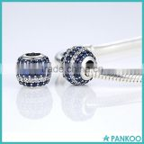 925 Sterling Silver Crystal Bead Landing Charms Factory Wholesale