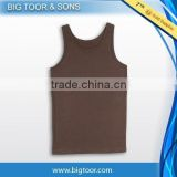 100% Cotton custom Gym Tanktops mens