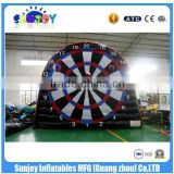 2016 Sunjoy New Giant Inflatable Dart Board Interesting Soccer Dart Game