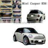 High quality PP body kit for bmw mini cooper R56 JCW Style 09~12