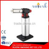 EK-709 Chef's Creme Brulee Blow Torch Food Torch BurnerMicro Butane Lighter Culinary Torch Lighter