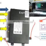 Video interface for Mercedes Benz 4PIN round connector screen;