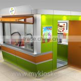 Inquiry about outdoor fast food kiosk / juice kiosk/ ice cream kiosk design for sale