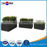 Most popular fiberglass square planter boxes