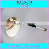 DANIWER brand double end synthetic hair eyeshadow brush