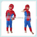 kid spiderman costume china wholesale for TV & Movie Costumes Kids Spiderman Costumes Halloween Spiderman Costumes