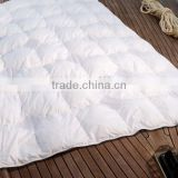 Wholesale Classic 70% white duck down comforter yangzhou wanda luxury feather home textile