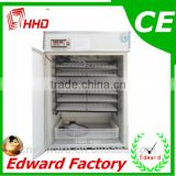 HHD Automatic 880 eggs incubator for sale of high quality Edward Factory for hatching chicken, quail, and birds