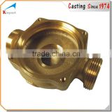 OEM manufacturer high precision cast 4 way copper fitting
