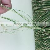 10500Dtex /16F PE straight & PP curl Artificial Landscaping Grass Yarn for soccer field
